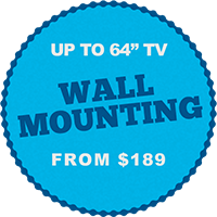 Melbourne TV Wall Mounting services installation cost price